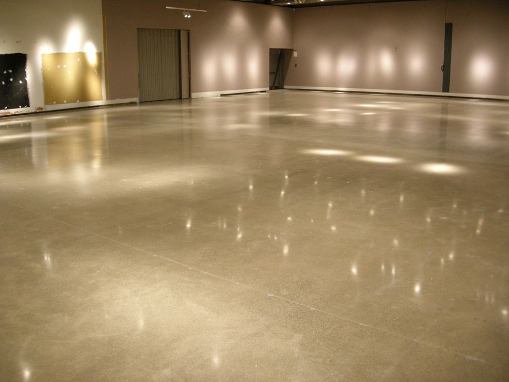 Commercial polished concrete stone medic polished concrete for Polished concrete floors