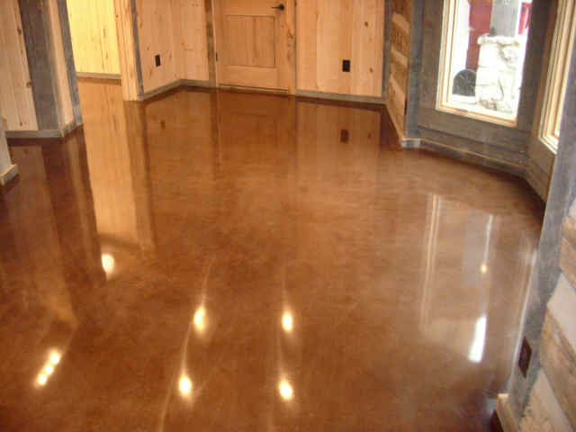 residential concrete floors. aside from the occasional damp mopping polished concrete floors will require very minimal maintenance residential